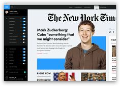 NYTimes Design Concept  How the New York Times is rethinking their online presence #Week3