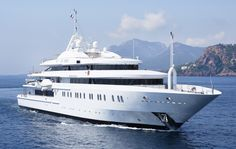 Luxury Yacht for charter, Super yacht Moonlight II our mega yacht On Emporium Yachts