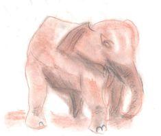 soft pastels Soft Pastels, Lion Sculpture, Elephant, Statue, Collection, Art, Art Background, Kunst, Elephants