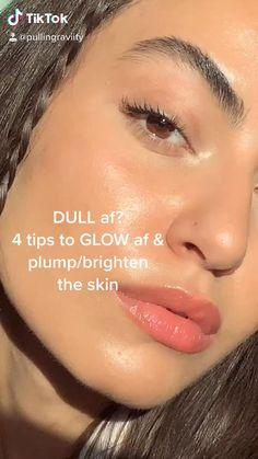 Skin Care Routine Steps, Skin Care Tips, Clear Skin Tips, Clear Skin Fast, Dull Skin, Skin Care Remedies, Face Skin Care, Tips Belleza, Skin Brightening