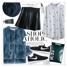 """""""YesStyle Polyvore Group """" Show us your YesStyle """""""" by teoecar ❤ liked on Polyvore featuring Marni, N°21, Baimomo, NIKE, Beauty and yesstyle"""
