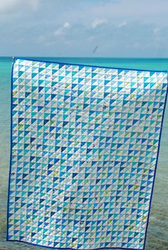 Margaret's Hope Chest: Bermuda Blues-Blogger's Quilt Festival