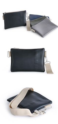 The Bubilian Leather Clutch & Strap Set features a beautiful pouch for your everyday items. From wonderful colors to stylish design, this clutch goes well with any outfits. It includes 2 detachable straps and the clutch can be worn on your shoulder or wrist! Everyday Items, Leather Clutch, Pouch, Miniatures, Stylish, Shoulder, Colors, Bags, Outfits