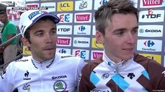 Best part of Tour 2014? Gotta be the french! @ThibautPinot @romainbardet @jice_peraud @tonygallopin @AG2RLAMONDIALEc pic.twitter.com/iyBSHaNe7G