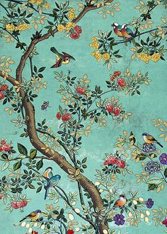 BugArt Decoratives ~ Blue Panel. DECORATIVES Designed by Jane Crowther.