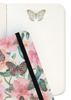 A6 Mini Butterfly Garden Luxury Journal