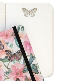 A6 Mini Butterfly Garden Luxury Journal