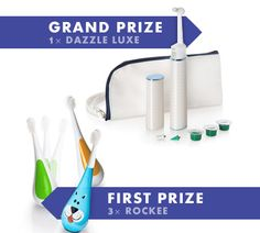 Simply Stacie:  Win a Dazzle Luxe or Rockee Toothbrush from Violife! (ends 6/6)