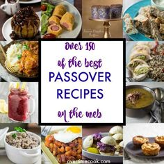 Cooking for pesach? I've made it easy with over 150 of the best passover recipes on the web!