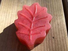 Autumn Leaf natural soap coconut oil essential oils by MilkyJar