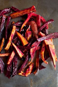 Rustic Roasted Beet and Sweet Potato Salad - sounds delish!