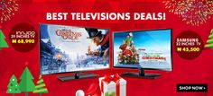 Best Christmass Deals ! Heavy Discount on televsions !