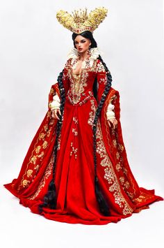 Commission cosplay of Mirror Queen (Brothers Grimm) April Maria Lurdes Escobar - Iplehouse Stella Outfit, wig, face-up by Amadiz Studio Barbie Gowns, Barbie Dress, Brothers Grimm, Royal Dresses, Fantasy Dress, Barbie Collection, Ball Jointed Dolls, Beautiful Dolls, Fashion Dolls