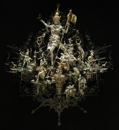 sulpture @ http://www.pinterest.com/joseedreira/kris-kuksi-sculpture/