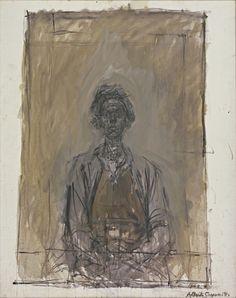 Alberto Giacometti. Annette. 1962