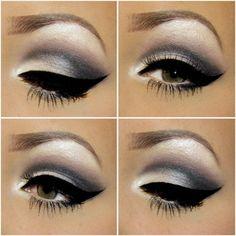 My favorite way to do my eyeshadow