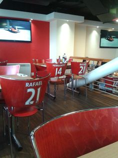 Red Cafe at Old Trafford