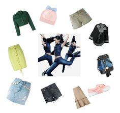 """""""Colours Of Denim..##"""" by yagna ❤ liked on Polyvore featuring Forte Couture, Jean-Paul Gaultier, Levi's, See by Chloé, G.V.G.V., Sandrine Rose, Tome, Joshua's, Federica Moretti and vintage"""