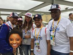The family of #USA's @Simone_Biles knows how to show their support! These…