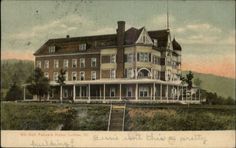 Ludlow VT Gill Odd Fellow's Home c1910 Postcard