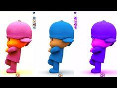 Aprende Los Colores y Animales con Pocoyo - Videos Para Niños y Bebes | BabyKids - YouTube