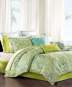 CLOSEOUT! Echo Serena California King Comforter Set $230 macys
