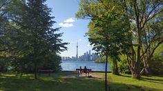 Blick auf Torontos Skyline