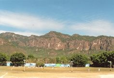 Soccer court pittoresque, Mexico