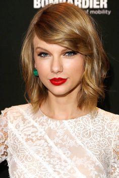Best Celebrity Long Bobs - Taylor Swift