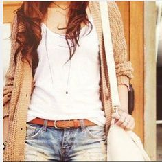 Summer outfit - perfect for those chilly mornings