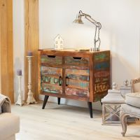 This Coastal Chic small sideboard is a perfect partner to the dining tables in the range and is ideal if you're looking for some extra storage and a beautiful statement piece of furniture. Mahogany Sideboard, Small Sideboard, Wood Source, Extra Storage, Wooden Furniture, Wine Rack, Coastal, Chic, Dining Tables