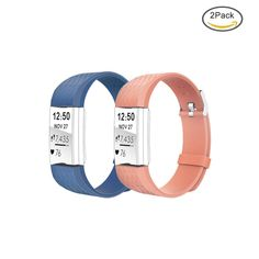 HOMEKE Replacement Bands for Fitbit Charge 2 - Adjustable Soft Silicone Fitness  #HOMEKE