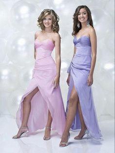 2014 Style A-line Sweetheart Ruffles Sleeveless Ankle-length Chiffon Prom Dress/Evening Dress