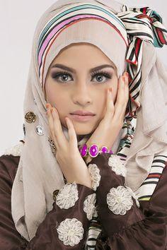light and airy hijab