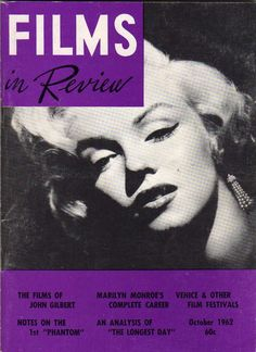Marilyn Monroe - Magazines Covers - Marilyn Magazines More Pins Like This At FOSTERGINGER @ Pinterest