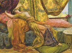 Georges Antoine Rochegrosse  (1859 - 1938) - Reclining Beauty