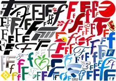 typo Lettre F