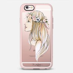 Summer by Brooklit - New Standard Case in Pink Gray and Clear by @brooklit | @casetify