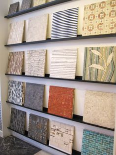 Yesterday, I spent the afternoon with my design class on a field trip to the  Ann Sacks  store. I've never seen so much beautiful tile ...