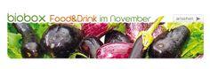 BIOBOX Food & Drink im November