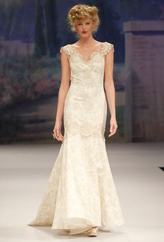 Edwardian inspired bridal gown - CLAIRE PETTIBONE Provence