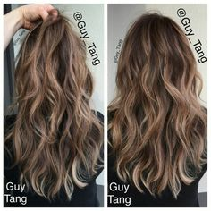 Dark blonde//light brown hair