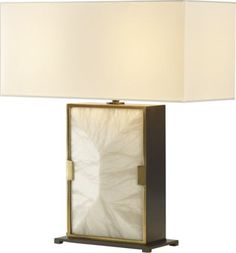 baker - heliodor table lamp, JLD