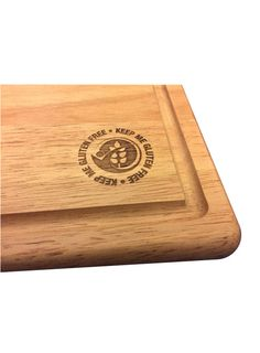 Wooden Keep Me Gluten Free Engraved Chopping Board, Wooden Chopping Boards, Bamboo Cutting Board, Gluten Free, Glutenfree, Sin Gluten, Grain Free