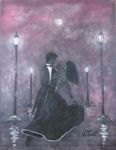 Romanced by L Gaudet on Etsy. Visit lgaudetart.ca to view more paintings.