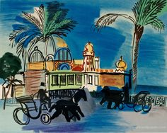 Watercolors by Raoul Dufy | Dufy Paintings