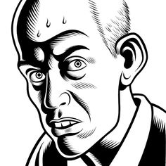 Dan Clowes by Charles Burns