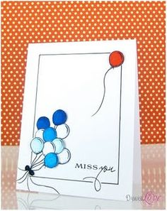 so clever for miss you card
