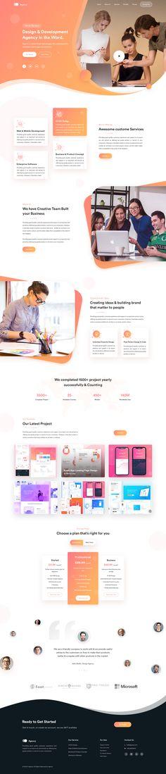 23 Ideas For Design Website Inspiration Layout Design, Design De Configuration, Graphisches Design, Website Design Layout, Web Layout, Design Ideas, Flat Design, Design Elements, Website Design Inspiration