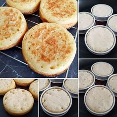 Searching for the perfect home-made crumpet recipe? I've tested three different recipes to help you narrow down your search! Easy Delicious Recipes, Yummy Food, Tasty, Jamie Oliver Comfort Food, Brunch Recipes, Breakfast Recipes, Homemade Crumpets, Crumpet Recipe, Cream Puff Recipe